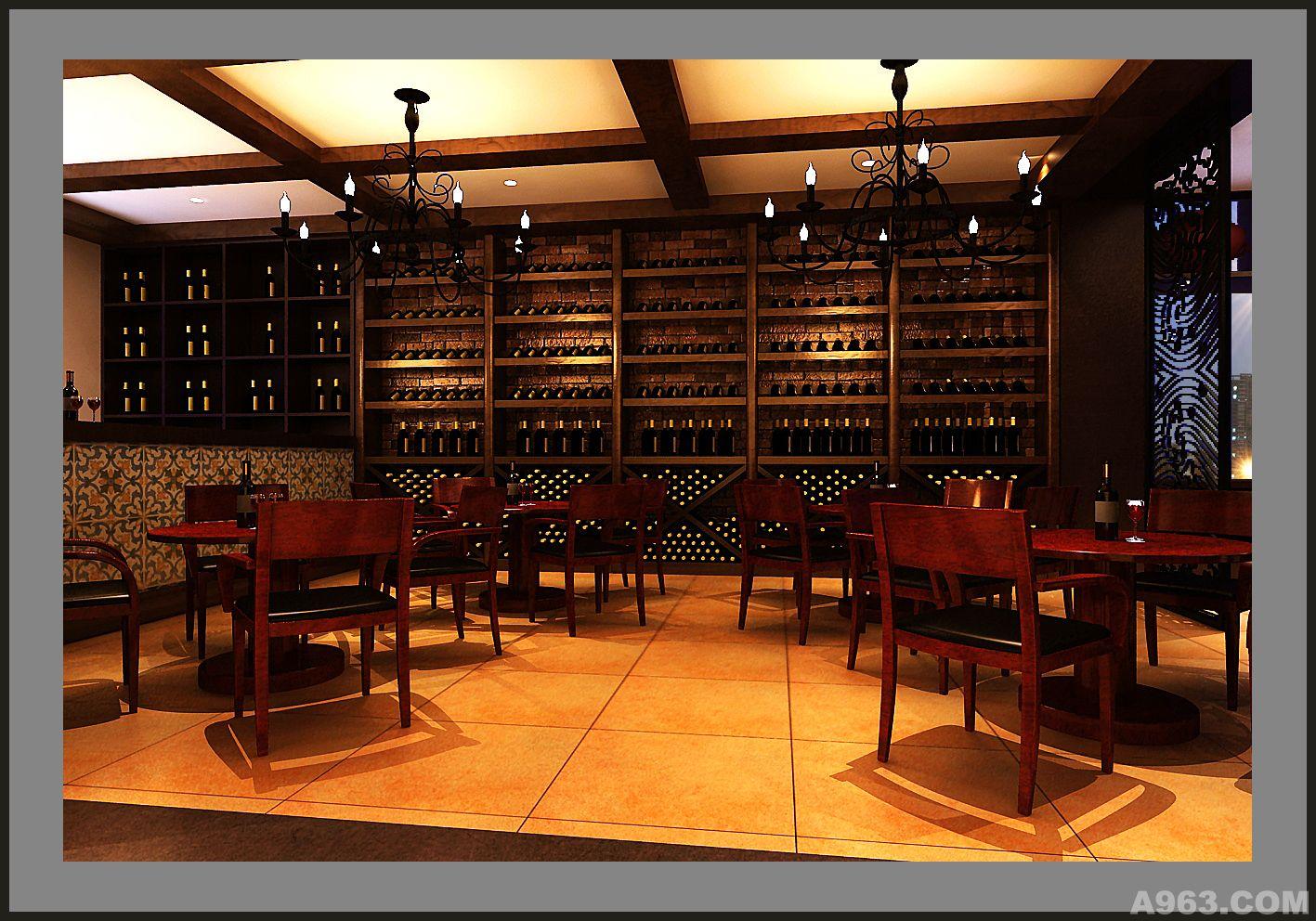 红酒及咖啡区