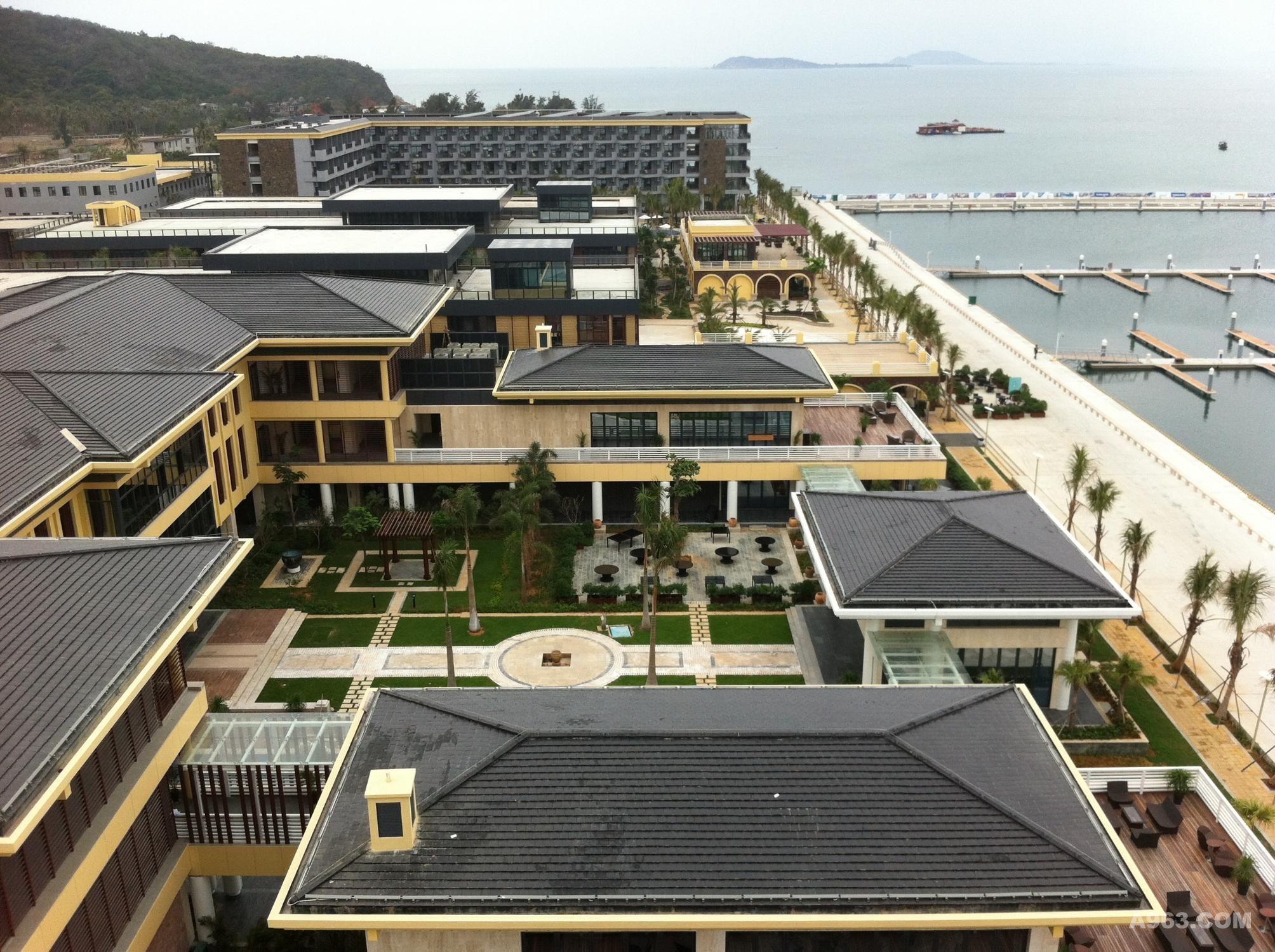 三亚半山半岛帆船港酒店