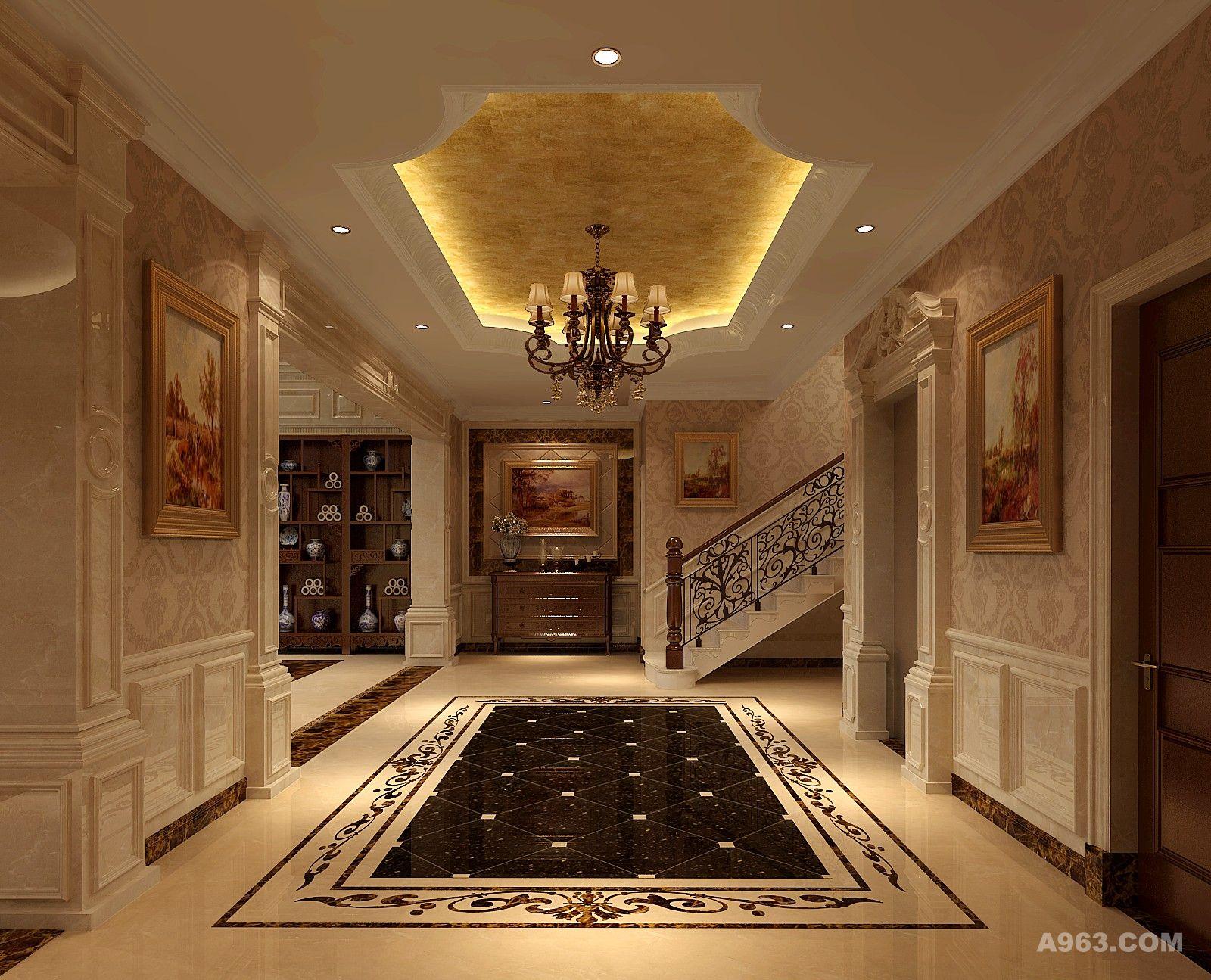 一楼电梯厅